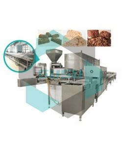 chocolate cereal bar moulding line