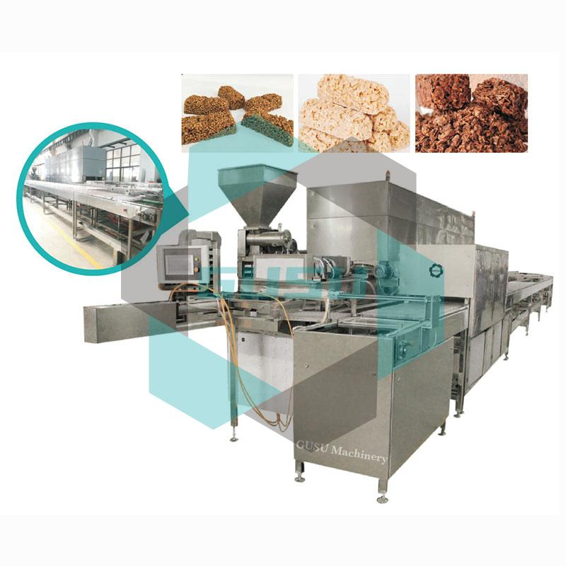 chocolate cereal bar moulding line1